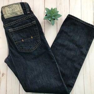 POLO RALPH LAUREN Boy's Dark Wash Denim Jeans Sz 8